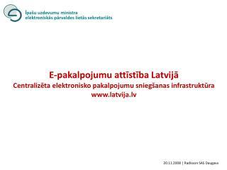 20 . 11 .200 8  |  Radisson SAS Daugava