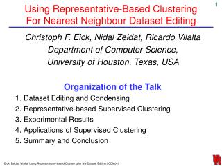 Using Representative-Based Clustering For Nearest Neighbour Dataset Editing