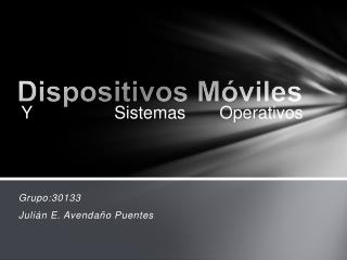 Dispositivos M�viles