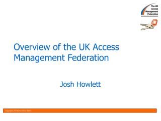 Overview of the UK Access Management Federation