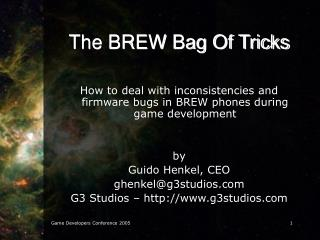 The BREW Bag Of Tricks