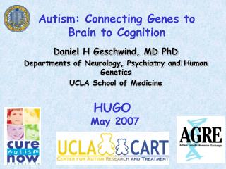 Autism: Connecting Genes to Brain to Cognition