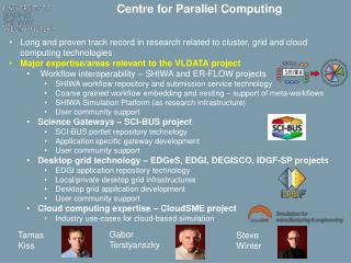 Centre for Parallel Computing