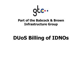 DUoS Billing of IDNOs
