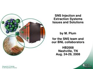 SNS Injection and Extraction Systems Issues and Solutions by M. Plum