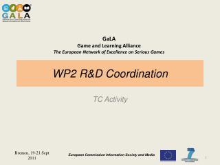 WP2 R&D Coordination