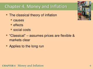 Chapter 4. Money and Inflation