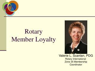 Rotary Member Loyalty