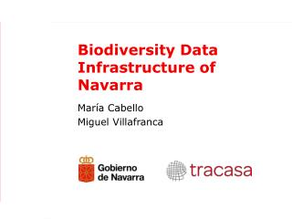 Biodiversity Data Infrastructure of Navarra
