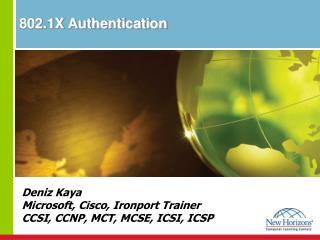 802.1X Authentication