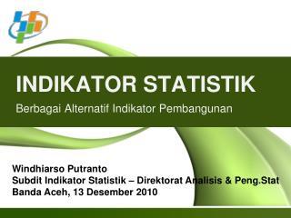 INDIKATOR STATISTIK