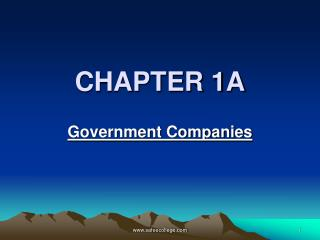 CHAPTER 1A