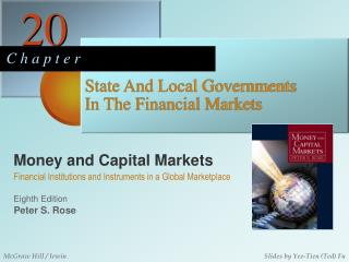 State And Local Governments In The Financial Markets