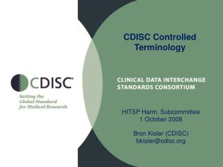 CDISC Controlled Terminology