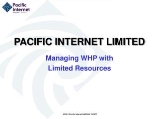 PACIFIC INTERNET LIMITED