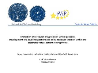 Evaluation of curricular integration of virtual patients: