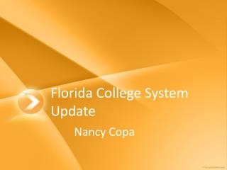Florida College System Update