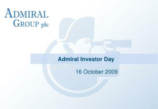Admiral Investor Day