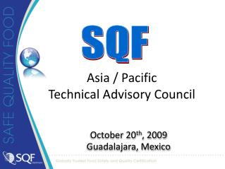 Asia / Pacific   Technical Advisory Council