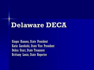 Delaware DECA
