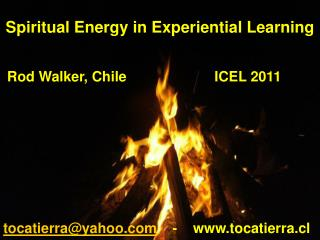 Spiritual Energy in Experiential Learning