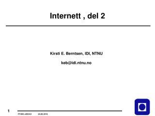 Internett , del 2