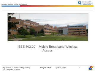 IEEE 802.20 – Mobile Broadband Wireless Access