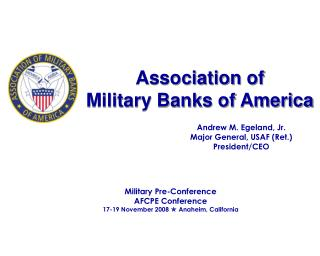 Association of  Military Banks of America
