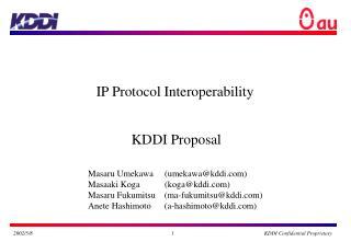 IP Protocol Interoperability