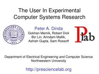 The User In Experimental  Computer Systems Research