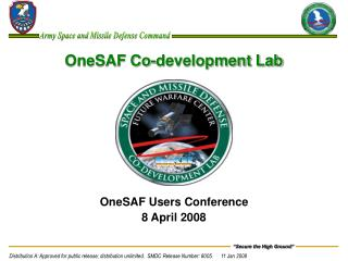 OneSAF Co-development Lab