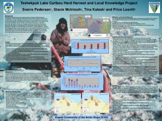 Teshekpuk Lake Caribou Herd Harvest and Local Knowledge Project
