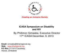 ICASA Symposium on Disability and HIV