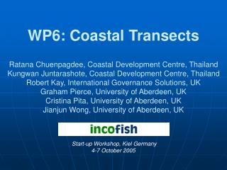 WP6: Coastal Transects