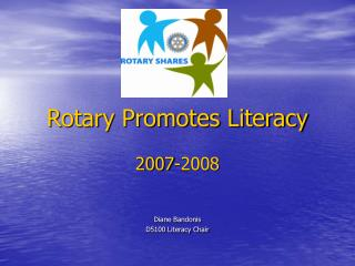 Rotary Promotes Literacy