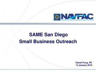 SAME San Diego  Small Business Outreach