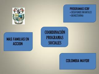 COORDINACIÓN PROGRAMAS SOCIALES