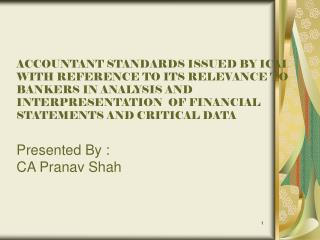 Meaning of Accounting Standards
