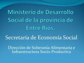 Secretaría de Economía Social