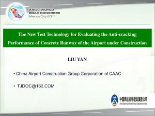 •  China Airport Construction Group Corporation of CAAC  •  TJDOC@163.COM