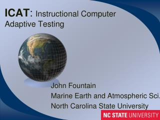 ICAT :  Instructional Computer Adaptive Testing