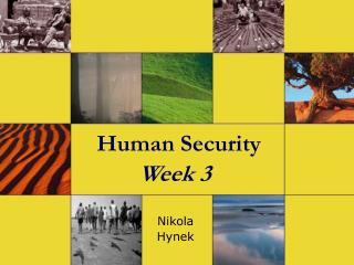 Human Security Week  3