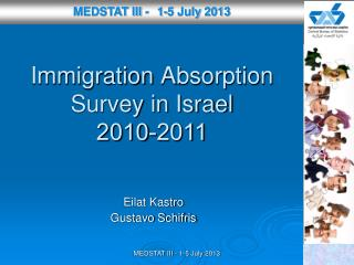 Immigration A bsorption Survey  in Israel 2010-2011