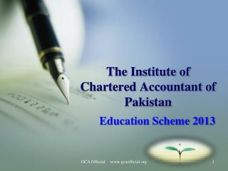 The Institute of Chartered Accountant of Pakistan
