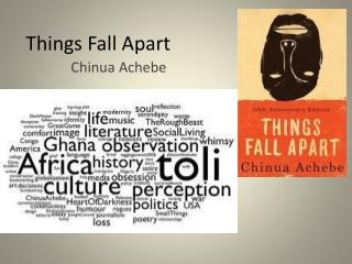 things fall apart part one essay Essay on things fall apart culture sets every nation apart from one another in some cultures, the customs and beliefs are easy to follow in okonkwo's culture.