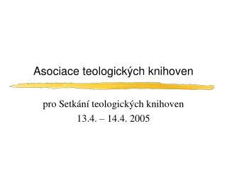 Asociace teologických knihoven