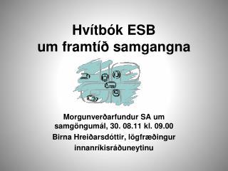 Hvítbók ESB  um framtíð samgangna