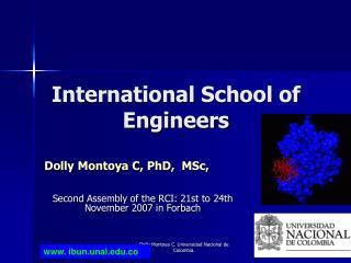 International School of Engineers