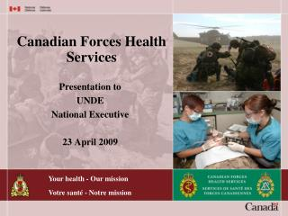 Canadian Forces Health Services
