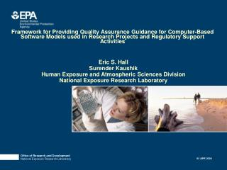 Framework for Providing Quality Assurance Guidance for Computer-Based Software Models used in Research Projects and Regu